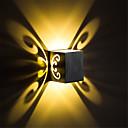 זול אורות קיר Flush Mount-מיני מודרני 3w הוביל מודרני אור אלומיניום רצפה הר קיר המנורה הוביל משולב במסדרון השינה השינה