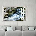 رخيصةأون ملصقات الحائط-لواصق حائط مزخرفة / لواصق الثلاجة - لواصق مناظر طبيعية / 3D الخارج / المكتب
