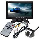 hesapli Araç Arka Görüş Kameraları-ZIQIAO 7 inç TFT-LCD CCD Kablolu 170 Derece Araç Arkadan Görünüm Seti Su Geçirmez / LCD Ekran / Çok fonksiyonlu ekran için Araba