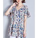 baratos Clutches & Bolsas de Noite-blusa feminina - floral em volta do pescoço