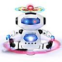 olcso Robotok-RC Robot Infracrveno ABS Mini / Éneklés / Tánc Nem