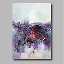halpa Eläinmaalaukset-Hang-Painted öljymaalaus Maalattu - Abstrakti Comtemporary Kangas