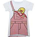 ieftine Seturi Îmbrăcăminte Fete-Copii Fete De Bază Mată Manșon scurt Tricou