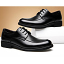 cheap Men's Oxfords-Men's PU(Polyurethane) Spring Comfort Oxfords Black / Brown