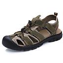 baratos Sandálias Masculinas-Homens Sapatos Confortáveis Couro Verão Sandálias Verde Tropa / Castanho Claro / Castanho Escuro / Ao ar livre