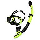 cheap Men's Athletic Shoes-Snorkeling Set / Diving Package - Diving Mask, Snorkel - Antifog, Dry Top Swimming, Diving Silicone, FRP  For  Adults