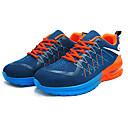 זול נעלי בד ומוקסינים לגברים-בגדי ריקוד גברים רשת סתיו נוחות נעלי אתלטיקה ריצה כתום / אדום / ירוק וכחול