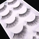 cheap Eyelashes-Eye 1 Natural Curly Daily Makeup Full Strip Lashes Make Up Professional High Quality Portable Professional Daily 1cm-1.5cm