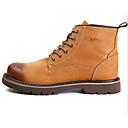 ieftine Șlapi Bărbați & Flip-Flops-Bărbați Pantofi Piele Iarnă Cizme de Combat Cizme Cizme / Cizme la Gleznă Maro Deschis / Maro Închis