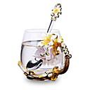 tanie Butelki na wodę-Naczynia do picia Szkło o wysokiej zawartości boru Szkło Ciepło-izolacyjne 1pcs