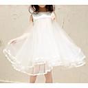 tanie Sukienki dla dziewczynek-Dzieci Dla dziewczynek Aktywny Jendolity kolor Bez rękawów Sukienka