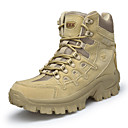 povoljno Muške čizme-Muškarci Udobne cipele Brušena koža Jesen zima Uglađeni Čizme Planinarenje Ugrijati Crn / Žutomrk