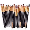 cheap Foundations-20-Pack Makeup Brushes Professional Make Up Artificial Fibre Brush Eco-friendly / Professional Plastic