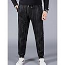 cheap Car Tail Lights-Men's Basic Chinos Pants - Striped Print