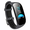 cheap Smartwatch Accessories-Smart Bracelet Smartwatch YY-Z17C for Android 4.3 and above / iOS 7 and above Heart Rate Monitor / Blood Pressure Measurement / Calories Burned / Long Standby / Touch Screen Pedometer / Call Reminder