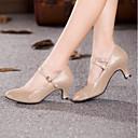 preiswerte Standardtanzschuhe & Modern Dance Schuhe-Damen maßgeschneiderte Werkstoffe Schuhe für modern Dance Absätze Maßgefertigter Absatz Maßfertigung Gold / Schwarz / Blau / Innen / EU42
