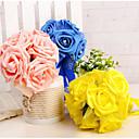 baratos Bouquets de Noiva-Bouquets de Noiva Buquês Casamento Espuma 11-20 cm
