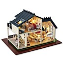 cheap Doll Houses-Dollhouse Creative Exquisite Mini Furniture Romantic 1pcs Pieces All Gift