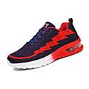 זול נעלי ספורט לגברים-בגדי ריקוד גברים טול אביב / סתיו נוחות נעלי אתלטיקה הליכה כחול כהה / אפור / כחול