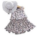 preiswerte Rasiere & Epilierer-Baby Mädchen Grundlegend Geometrisch Ärmellos Kleid