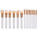 cheap Makeup Brush Sets-15pcs Makeup Brushes Professional Makeup Brush Set Nylon fiber Eco-friendly / Soft Wooden / Bamboo