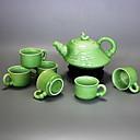 olcso Sütőeszközök-7 db porcelán teáskészlet hőálló, 18 * 15 * 10, 6 * 6 * 4cm
