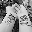 billige Rhinsten&Dekorationer-10 pcs Tatoveringsklistermærker Midlertidige Tatoveringer Dyre Serier Kropskunst arm