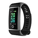 Недорогие Умные браслеты-M18 Smart Watch BT 4.0 фитнес-трекер поддержка уведомлений и анти-потерянный водонепроницаемый браслет совместимый Samsung / Huawei / Iphone