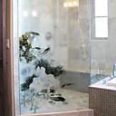 preiswerte Fensterfolie & Aufkleber-Fenster Film & Aufkleber Dekoration Blumig / Moderne Blumen PVC Fenster-Aufkleber / Matt