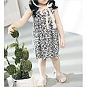 ieftine Set Îmbrăcăminte Bebeluși-Bebelus Fete Activ Imprimeu Fără manșon Sub Genunchi Bumbac Rochie