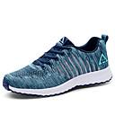 זול קבקבים לגברים-בגדי ריקוד גברים טול קיץ נוחות נעלי אתלטיקה ריצה שחור / אדום / כחול