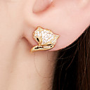 cheap Earrings-Women's Stud Earrings - 18K Gold Plated, S925 Sterling Silver Animal Dainty Gold For Daily / Going out