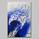 cheap Abstract Paintings-Mintura® Hand-Painted Modern Abstract Oil Painting on Canvas Wall Art Picture for Home Decor Ready To Hang