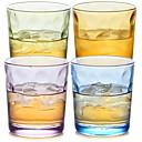 tanie Butelki na wodę-Naczynia do picia Szkło o wysokiej zawartości boru Szkło Ciepło-izolacyjne 4pcs