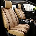 זול כיסויי למושבים לרכב-ODEER כריות למושבי הרכב כיסויים בז' טֶקסטִיל נפוץ for אוניברסלי כל השנים כל הדגמים