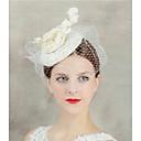 preiswerte Hochzeitsblumen-Flachs Fascinatoren / Kopfschmuck mit Kunstperlen 1pc Hochzeit / Besondere Anlässe Kopfschmuck
