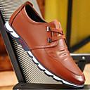 זול נעלי אוקספורד לגברים-בגדי ריקוד גברים PU אביב נוחות נעלי אוקספורד שחור / חום