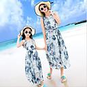 رخيصةأون فساتين البنات-للفتيات بوهو بنطلون - ورد أزرق / شاطئ
