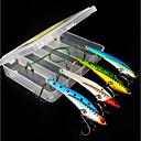 ieftine Obiecte decorative-4 pcs Momeală Dură Momeală metalică Metalic Pescuit mare / Pescuit cu Muscă / Aruncare Momeală / Pescuit la Copcă / Filare / Pescuit la Oscilantă / Pescuit de Apă Dulce / pescuit de Crap