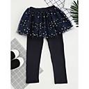 preiswerte Kleidersets für Mädchen-Mädchen Hose Verziert Polyester Ganzjährig Aktiv Rosa Marineblau Purpur