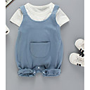 ieftine Set Îmbrăcăminte Băieți Bebeluși-Bebelus Băieți Șic Stradă Mată Manșon scurt Set Îmbrăcăminte