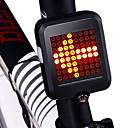 abordables Casques de Cyclisme-LED Eclairage de Velo Eclairage de Vélo Arrière Eclairage sécurité vélo / Ecarteur de danger ECLAIRAGE ARRIERE Cyclisme Imperméable Portable Pliable Lithium-ion 200 lm Rouge Cyclisme