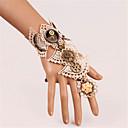 ieftine Accesorii Lolita-Brățară slabă Stil Vintage Gotic Alb Vintage Dantelă Brățară / Brățară rigidă Dantelă Aliaj metalic Costume
