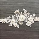 baratos Ligas para Noivas-Renda Estilo vintage Wedding Garter Com Elástico / Cristal / Strass Ligas Casamento / Festas & Noite