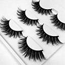 preiswerte Wimpern Accessoires-Augenwimpern Falsche Wimpern 6 pcs Profi Level Voluminisierung Locken Extra lang Faser Alltag Training Verabredung Vollbandwimpern Dick - Bilden Alltag Make-up Professionell Tragbar Kosmetikum
