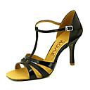 olcso Férfi csizmák-Női Latin cipők / Salsa cipők Csillogó flitter / Bőrutánzat Szandál / Magassarkúk Csat / Csokornyakkendő Személyre szabott sarok Személyre szabható Dance Shoes Piros / Kék / Aranyozott / Teljesítmény