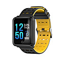 baratos Café e Chá-Relógio inteligente STN88 para Android iOS Bluetooth Impermeável Monitor de Batimento Cardíaco Medição de Pressão Sanguínea Tela de toque Suspensão Longa Podômetro Aviso de Chamada Monitor de Sono