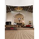 billige Veggklistremerker-Kirke Veggdekor polyester Moderne Veggkunst, Veggtepper Dekorasjon