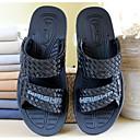 זול נעלי ספורט לגברים-בגדי ריקוד גברים PVC קיץ נוחות כפכפים & כפכפים שחור / בז'