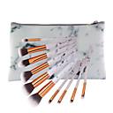 billige Sminkebørstesett-10-pack Makeup børster Profesjonell Rougebørste / Øyenskyggebørste / Leppebørste Full Dekning Tre / Bambus